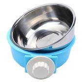 飯碗寵物食盆懸掛式不銹鋼碗貓食盆
