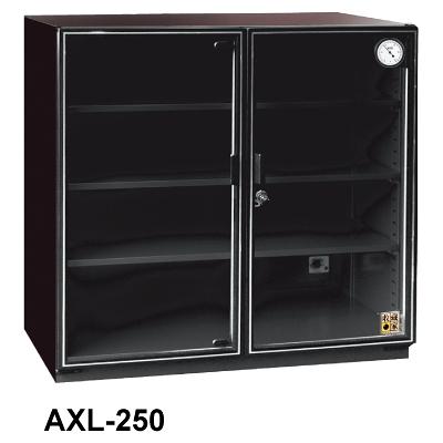收藏家 AXL-250 玻璃門電子防潮箱 257L
