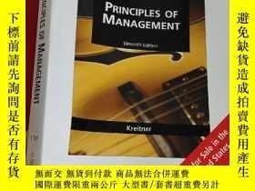 二手書博民逛書店Principles罕見of Management (Eleventh Edition) (16開) 【詳見圖】奇