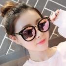 網紅新款墨鏡防紫外線太陽鏡 女ins韓版潮街拍圓臉
