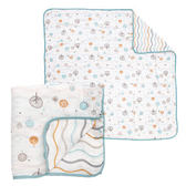 奇哥 竹纖維紗布被120x120/送禮/彌月禮盒(禮盒裝 附奇哥提袋)