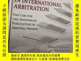 二手書博民逛書店the罕見rise of transparency in international arbitration