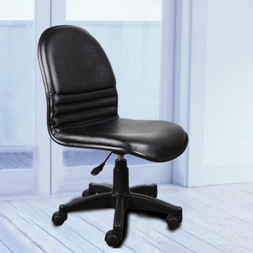 《嘉事美》L型氣壓辦公椅~黑色皮面/免組裝 電腦桌 電腦椅 書桌 茶几 鞋架 傢俱 床 櫃