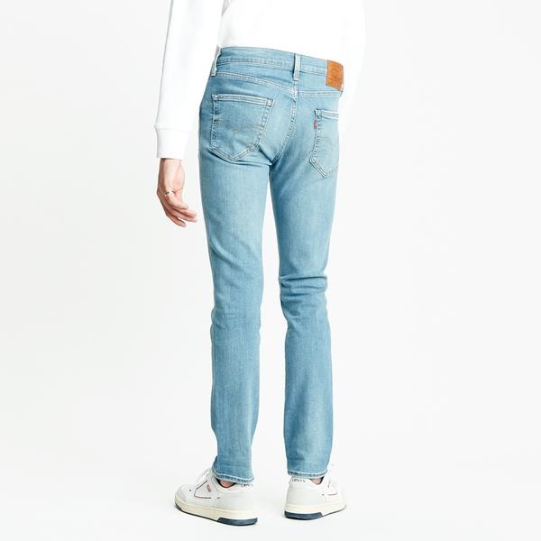 Levis 男款 511 低腰修身窄管牛仔褲 / 精工水藍作舊水洗 / 彈性布料