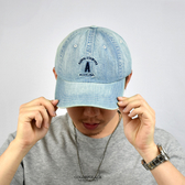 老帽 A 字淺色牛仔休閒棒球帽NHA53