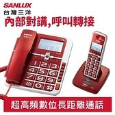 【福利品】SANYO 三洋 2.4G 數位無線 親子機 DCT-8907