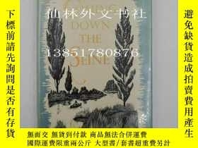二手書博民逛書店【罕見】1953年初版Coming down the seine