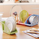 廚房用品   歐式廚房碗盤收納架 廚房用具 碗盤碟蓋收納 收納架 碗盤收納架 【KFS053】-收納女王