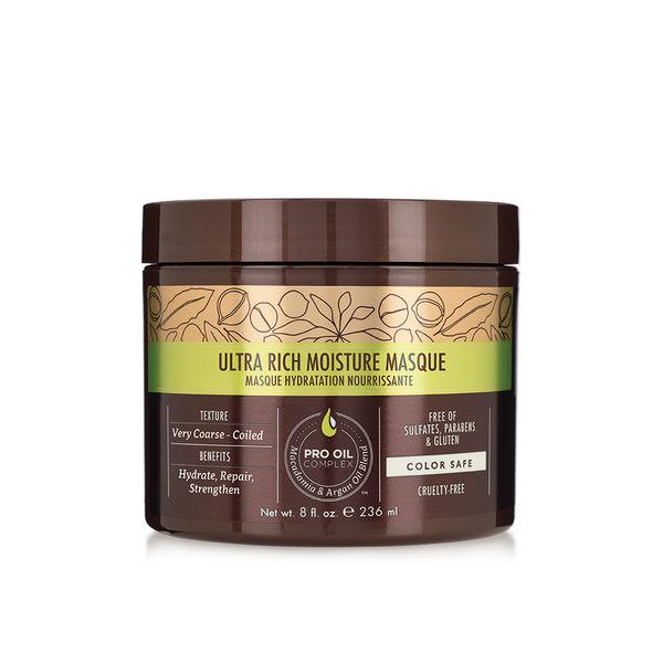 Macadamia Professional 瑪卡奇蹟油 超潤澤髮膜 236ml (原廠公司貨) 【Emily 艾美麗】