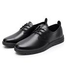 皮鞋 春夏季廚師鞋男廚房防水防油防臭防滑鞋子耐磨透氣黑色工作皮鞋男