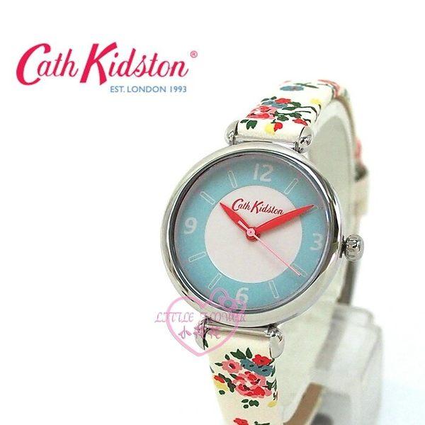 ♥小花花日本精品♥ Cath Kidston品白色花朵錶帶精緻時鐘手錶可愛手錶22022608