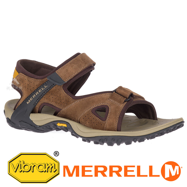 【MERRELL 美國】KAHUNA 4 男織帶 涼鞋『茶色』033667 功能鞋.多功能鞋.休閒鞋.健行鞋.涼鞋