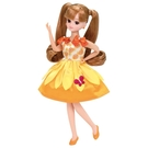 LICCA 莉卡娃娃 配件 LW-03 熱情向日葵洋裝組