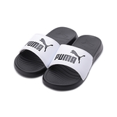 PUMA POPCAT 20 運動拖鞋 黑白 372279-09 女鞋