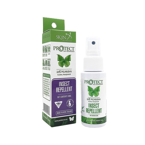 Skin Technology 噴霧瓶 50ml 紐西蘭 派卡瑞丁 長效防蚊液 Picaridin 嬰兒防蚊液 1065