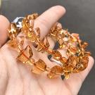 『晶鑽水晶』天然黃水晶手鍊 元寶型 大 寬約14mm 4A 強力招財 偏財運 另有兩款可選 附禮盒