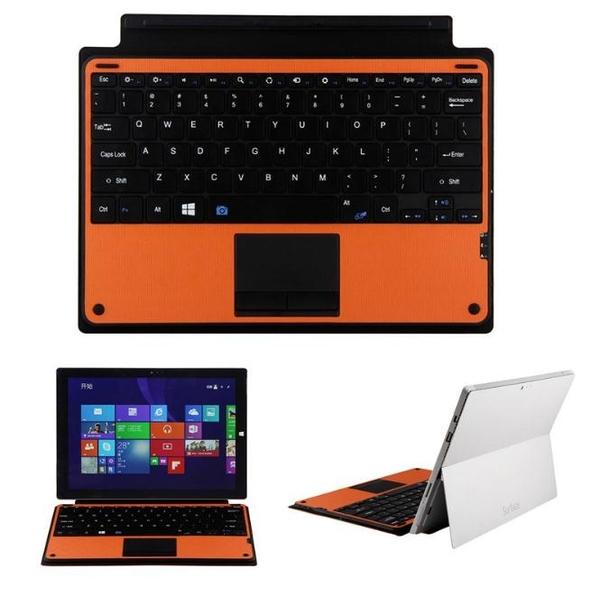 微軟Microsoft 12.2寸Surface Pro 3/4/5/6觸摸式Win8可用 藍牙鍵盤  鋁合金鍵盤皮套WSP328