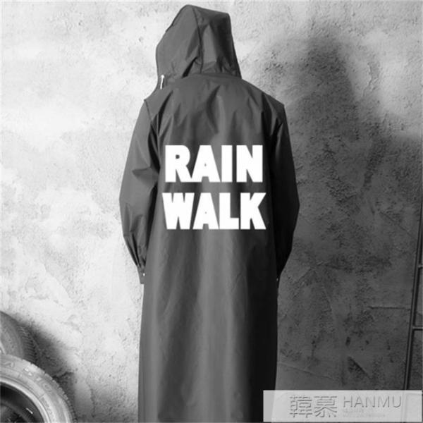 雨衣男女雨衣長款全身外套風衣時尚潮透明自行車雨衣電瓶車雨披  4.4超級品牌日