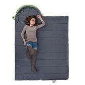 睡袋(單人)快速收納-信封式成人戶外露營保暖登山用品3色71q21【時尚巴黎】