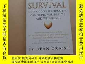 二手書博民逛書店love罕見and survival dr dean ornishY2931 dr dean ornish w