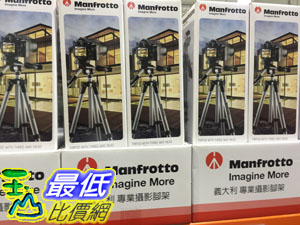 [COSCO代購] MANFROTTO COMPACT ADV. 輕量折疊三向雲台腳架 腳架1.3KG 最大165CM高 _C105086
