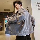 男士牛仔夾克秋季2020新款韓版潮流棒球服帥氣百搭春秋款工裝外套 好樂匯