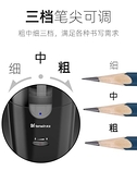 削筆器 電動卷筆刀自動轉筆刀小學生粗大三角鉛筆洞洞筆削筆器素描鉛筆刀 米家