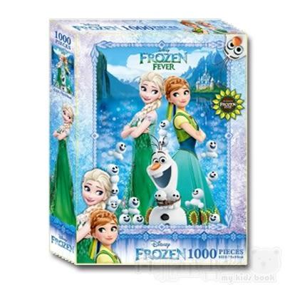 【根華】(C)冰雪奇緣1000片盒裝拼圖(QFT08C)