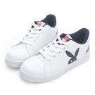 PLAYBOY 條紋魅力 兔兔小白鞋-藍紅(Y7220)
