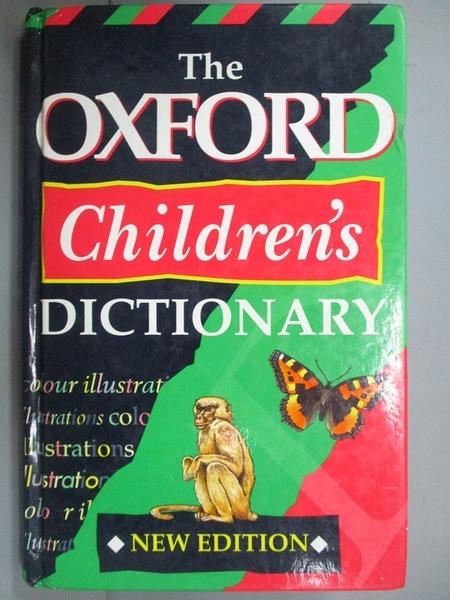 【書寶二手書T2/字典_LJZ】OXFORD CHILDREN S DICTIONARY