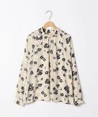 印花罩衫 圓點花朵套衫 日本品牌【coen】