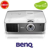 (現貨下殺) BenQ 投影機 W1400 2.4米100吋 內建2D轉3D 1080P家庭劇院投影機 送3D眼鏡2支+100吋手拉式布幕