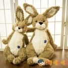 小兔子毛絨玩具垂耳兔布娃娃玩偶公仔可愛抱枕兒童禮物【淘嘟嘟】