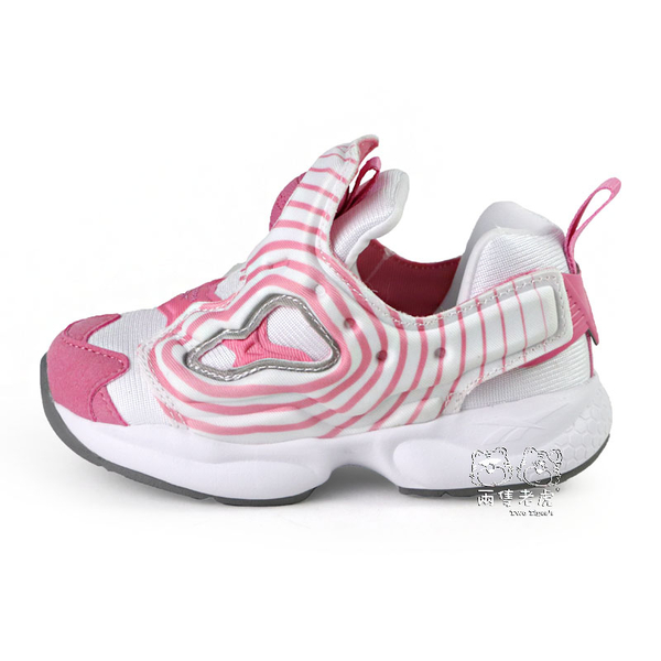 Reebok FURY INF INFANTS 粉紅 套入式 小童鞋 NO.R5633