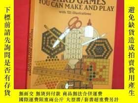 二手書博民逛書店Favorite罕見Board Games You Can Ma