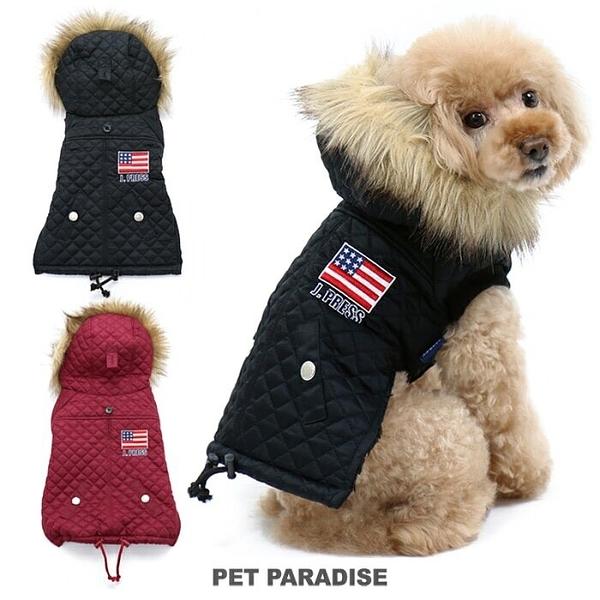 【PET PARADISE 寵物精品】JPRESS《遠紅外線》菱格紋鋪棉外套/酒紅 (3S/DSS/SS/DS/S) 寵物衣服 冬季新品