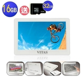 【送32G記憶卡】VITAS X5000 5吋觸控式 MP5 16G~多媒體播放器/MP4隨身聽/MP3隨身聽