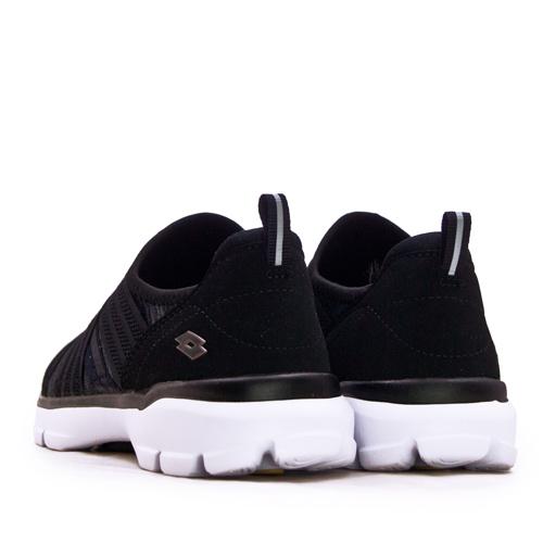 LIKA夢 LOTTO 輕量美型健走鞋 EASY WEAR 系列 黑灰 1160 女