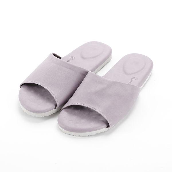 HOLA 健康機能乳膠拖鞋 藕紫 M