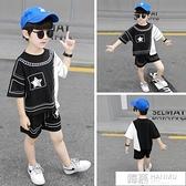 男童韓版夏裝1一2三4五6歲寶寶時尚套裝洋氣童裝3男孩帥氣兩件套7 夏季新品