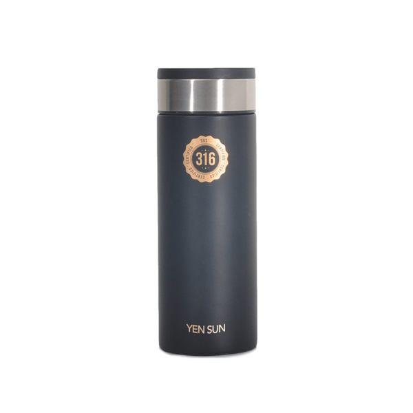 元山 不鏽鋼樂活保溫瓶 YS-N501ETA(黑)