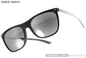 GIORGIO ARMANI 太陽眼鏡 GA8048QF 50426G (黑-銀) 個性簡約百搭水銀鏡面款 # 金橘眼鏡