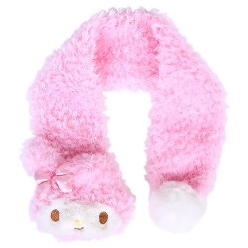 Sanrio 美樂蒂玩偶造型兒童圍巾(臉紅紅)