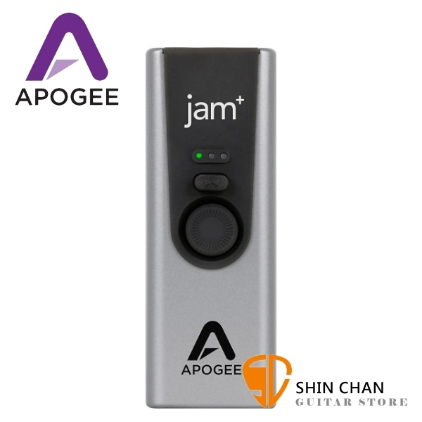【缺貨】Apogee Jam Plus 錄音室等級-吉他界面(for GarageBand on iPad, iPhone and Mac)