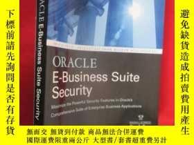 二手書博民逛書店Oracle罕見E-Business Suite Securit