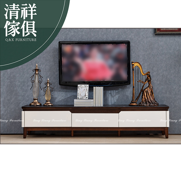 【新竹清祥傢俱】PLF-12LF43-現代簡約風雙色石面電視櫃 現代 宜家 輕奢 客廳/置物櫃/收納