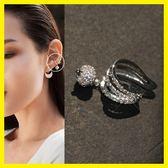 甜美氣質女韓國簡約時尚個性耳骨夾小飾品耳環耳夾無耳洞女潮流坐標