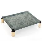 寵物坐墊 寵物行軍床夏天可拆洗四季通用透氣寵物床大型犬狗貓床金毛大床墊
