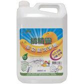 亞積~橘精靈多功能洗潔劑3850毫升/罐~特惠中~