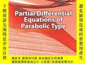二手書博民逛書店Partial罕見Differential Equations Of Parabolic Type (dover